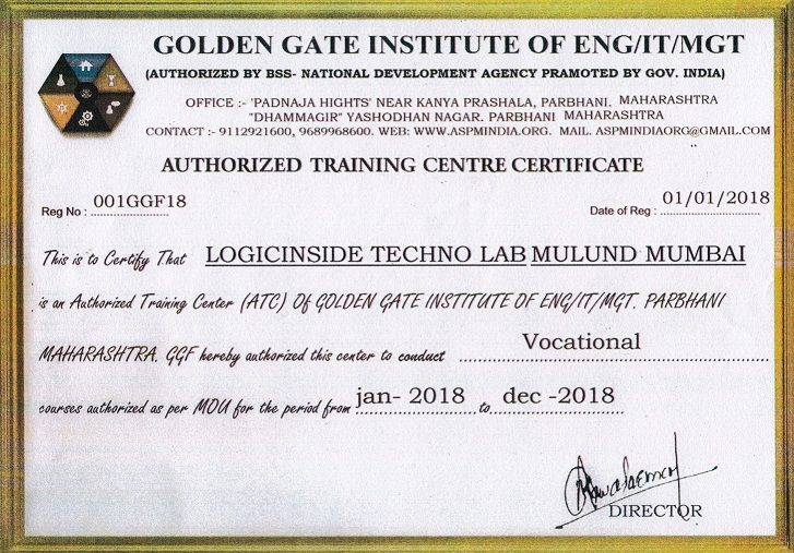 Certification Courses Logicinside Techno Lab